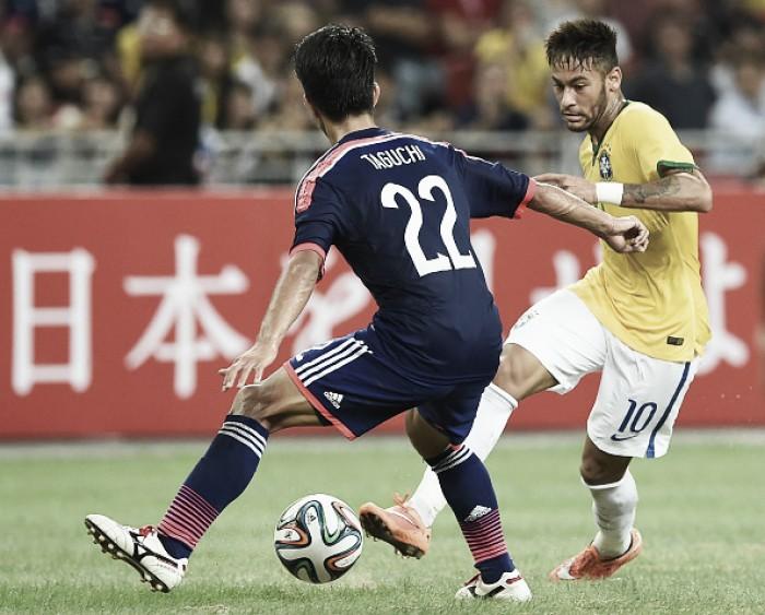Na França, Brasil encara Japão em jogo preparatório para Copa do Mundo