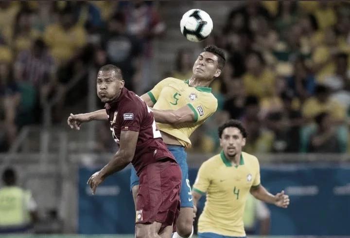 Brasil no logró sumar en su encuentro ante Venezuela