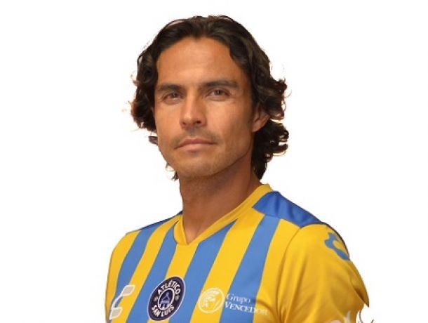 Braulio Luna causó baja con el Atlético San Luis