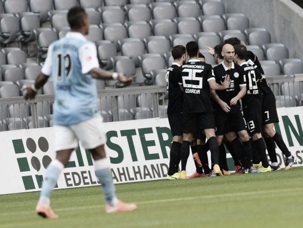 1860 Munich 1-2 Eintracht Braunschweig: Korte's volley earns Lions first away win