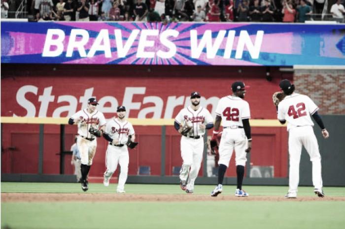 Atlanta Braves sweep San Diego Padres to open new ballpark