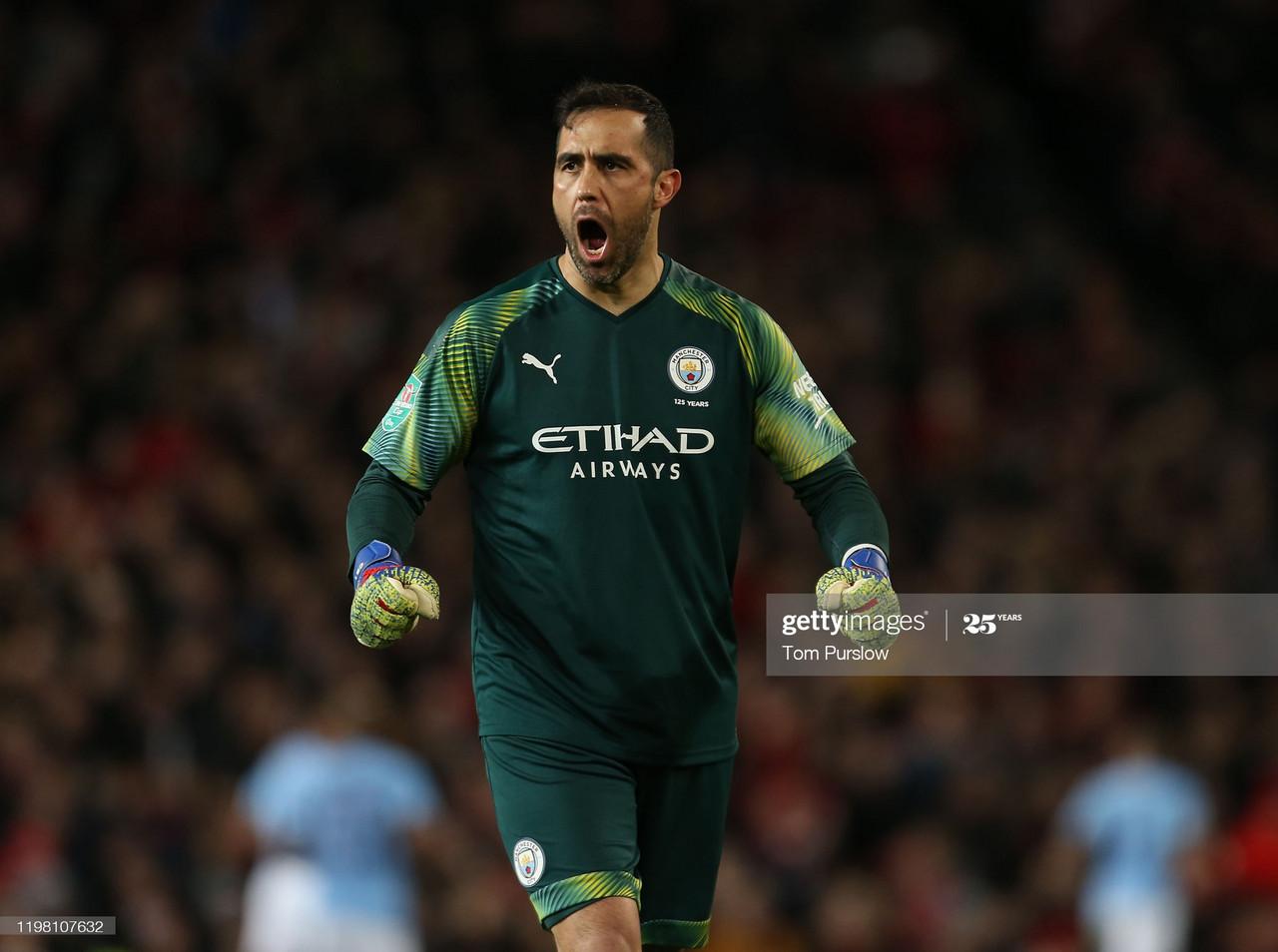 Veteran goalkeeper Claudio Bravo leaves Manchester City