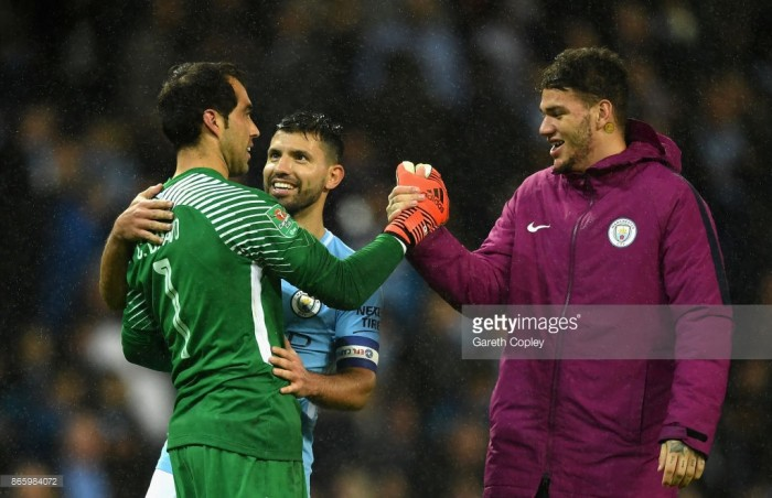 Manchester City 0-0 Wolverhampton Wanderers (4-1 on pens): Bravo the hero as City progress