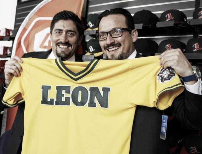 "Javier Salinas: ""Me da mucho gusto que León tenga béisbol"""