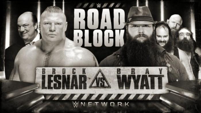 Brock Lesnar Versus Bray Wyatt Announced For WWE Roadblock