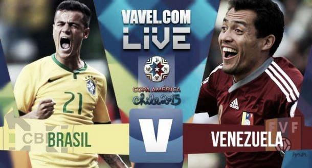 Risultato Brasile - Venezuela di Copa America 2015 (2-1)