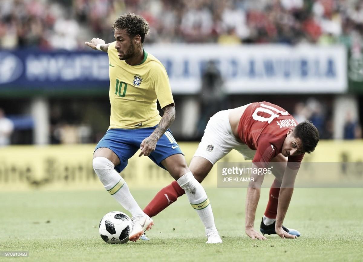 Brasil - Suíça: o jogo aguardado pelo público