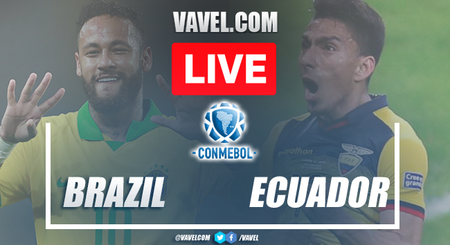 Goals and Highlights: Brazil 2 - 0 Ecuador in CONMEBOL Qualifiers 2021