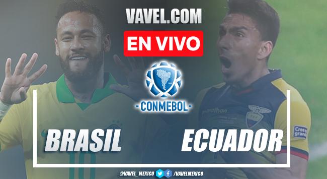 Goles y resumen: Brasil 0-0 Ecuador en Eliminatorias CONMEBOL 2021