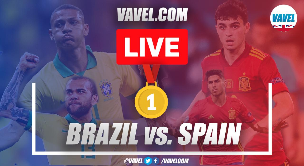 España vs Brasil: Mejores momentos del partido (1-2)