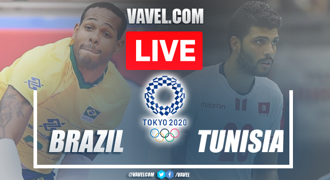 Highights and Best Moments: Brazil 3-0 Tunisia in Men's Volleyball Olympic Games