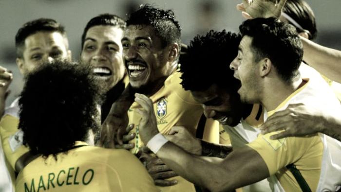 Tutto facile per il Brasile e per Miranda, Paraguay affossato 3-0