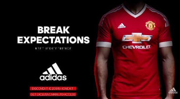 06652a483ab Manchester United reveal new kit for 2015 16 season - first Adidas kit in 23