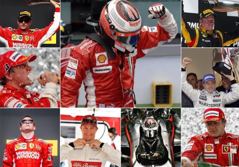 Kimi Raikkonen Pensiun dari Formula 1