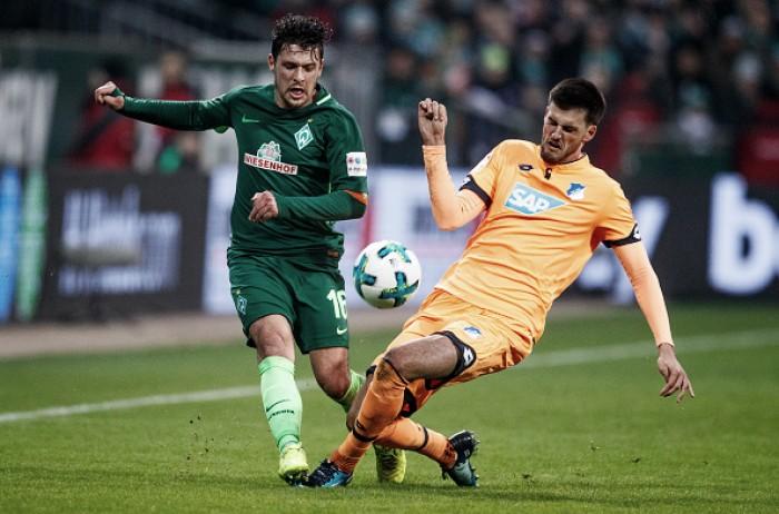 Em jogo ruim para ambos, Werder Bremen e Hoffenheim ficam no empate