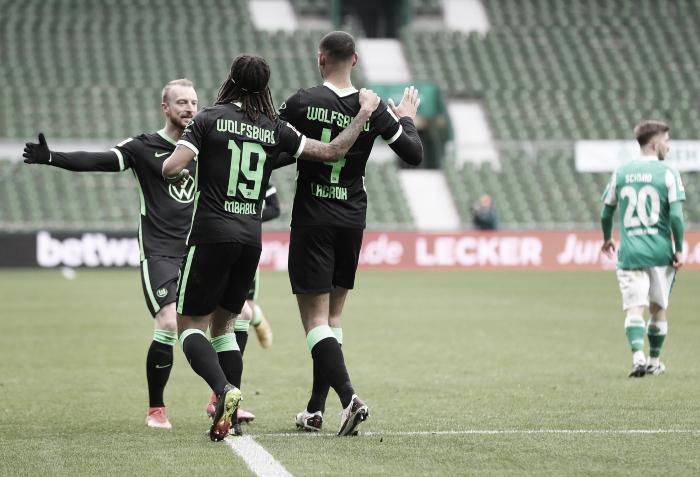 Wolfsburg mantuvo al Bremen a raya y consiguió tres puntos en su visita
