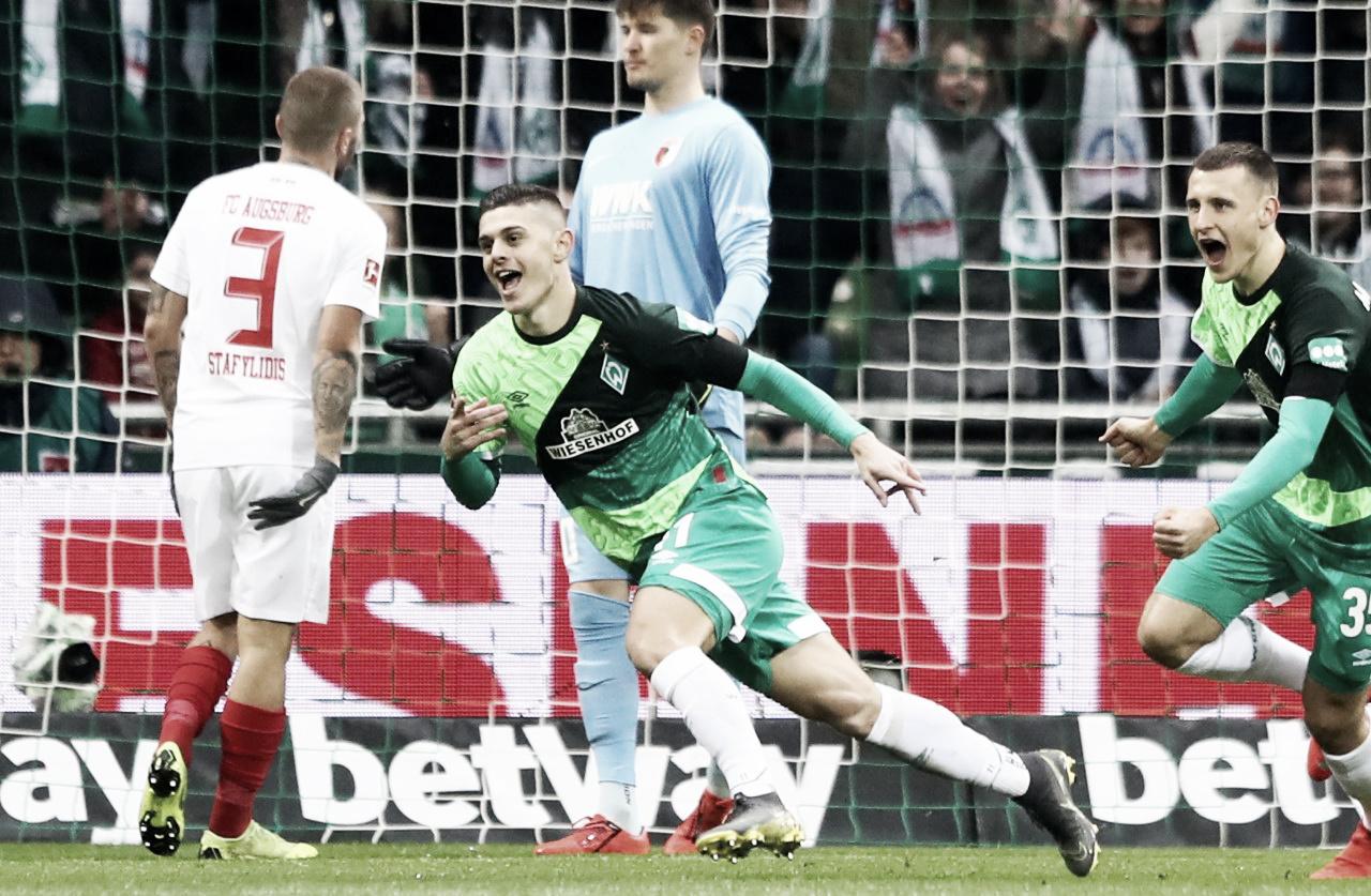 Festa em dobro! Werder Bremen atropela Augsburg em dia de comemoração do aniversário
