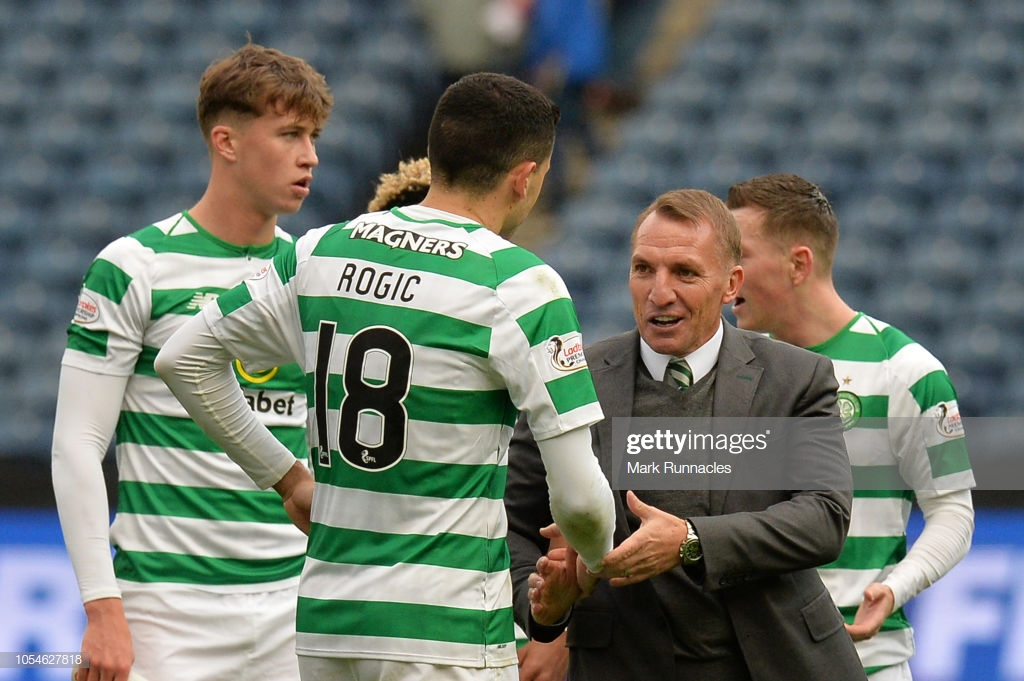 Brendan Rodgers insists he's focused on Celtic despite Leicester City rumours