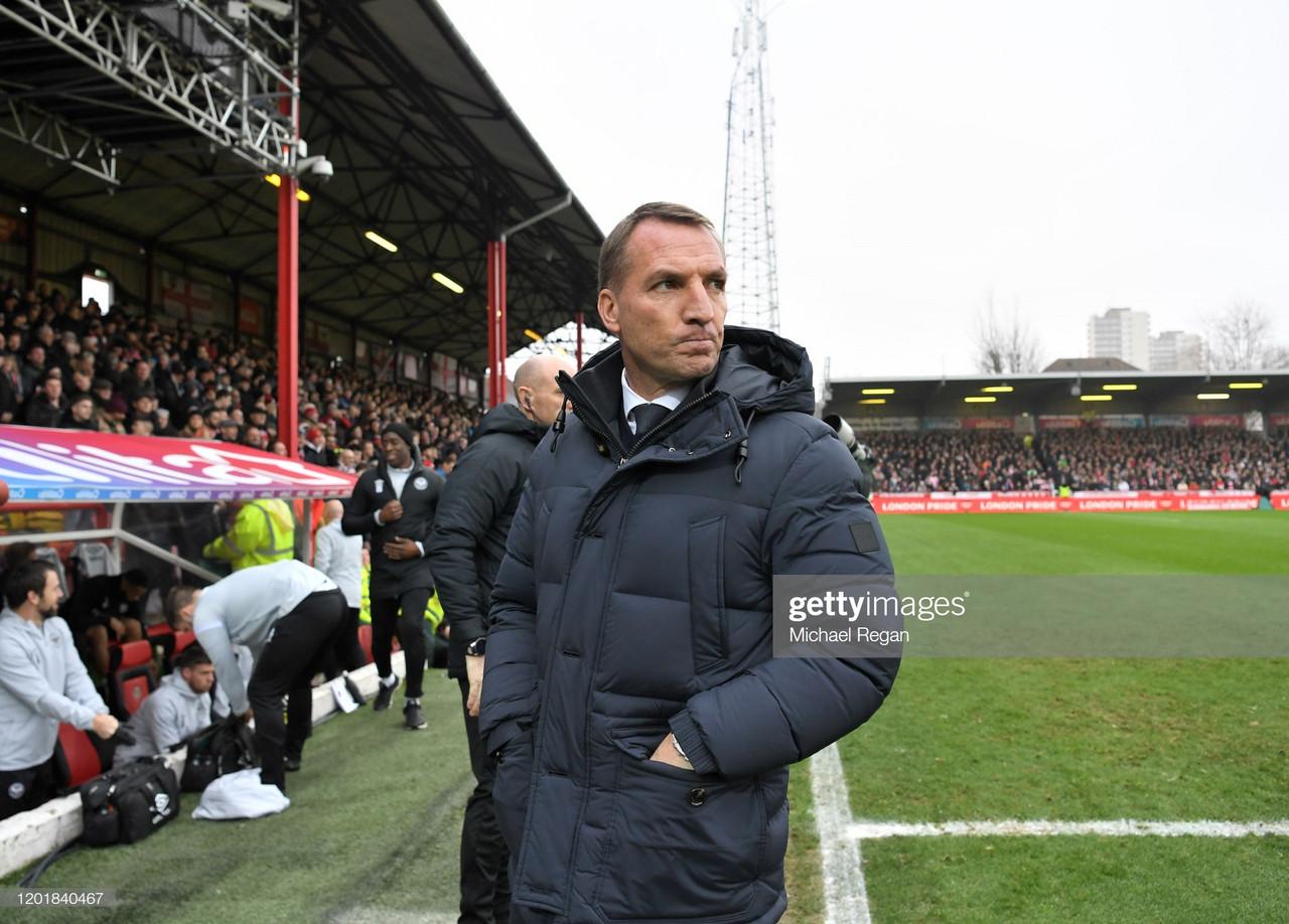 Brendan Rodgers confirms Vardy availability ahead of Semi-Final against Aston Villa
