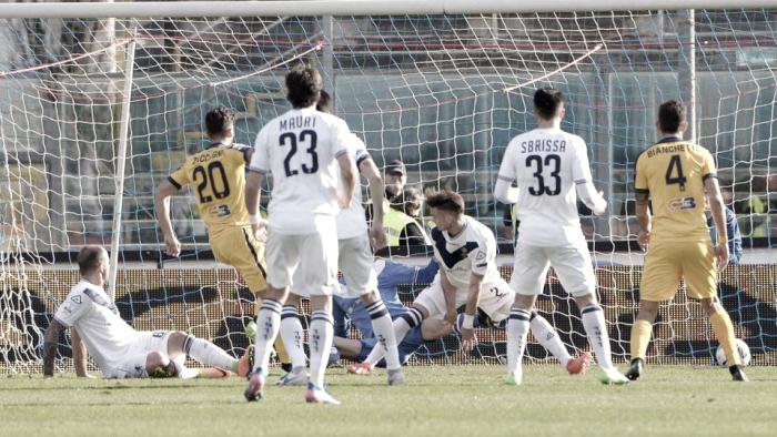 Serie B: l'Hellas Verona torna al successo esterno. Brescia battuto con una rete di Zaccagni