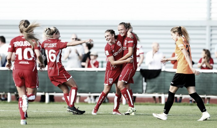 Bristol City 3-0 London Bees: Vixens dominate at home