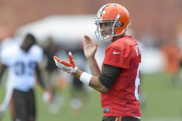 Cleveland Browns Have Named Brian Hoyer Their Starting Quarterback