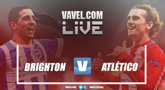 Resumen del Brighton vs Atlético de Madrid (2-3)