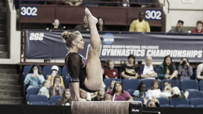 NCAA Women's Gymnastics Championships: Bridget Sloan wins second All-Around title as individual champions are crowned