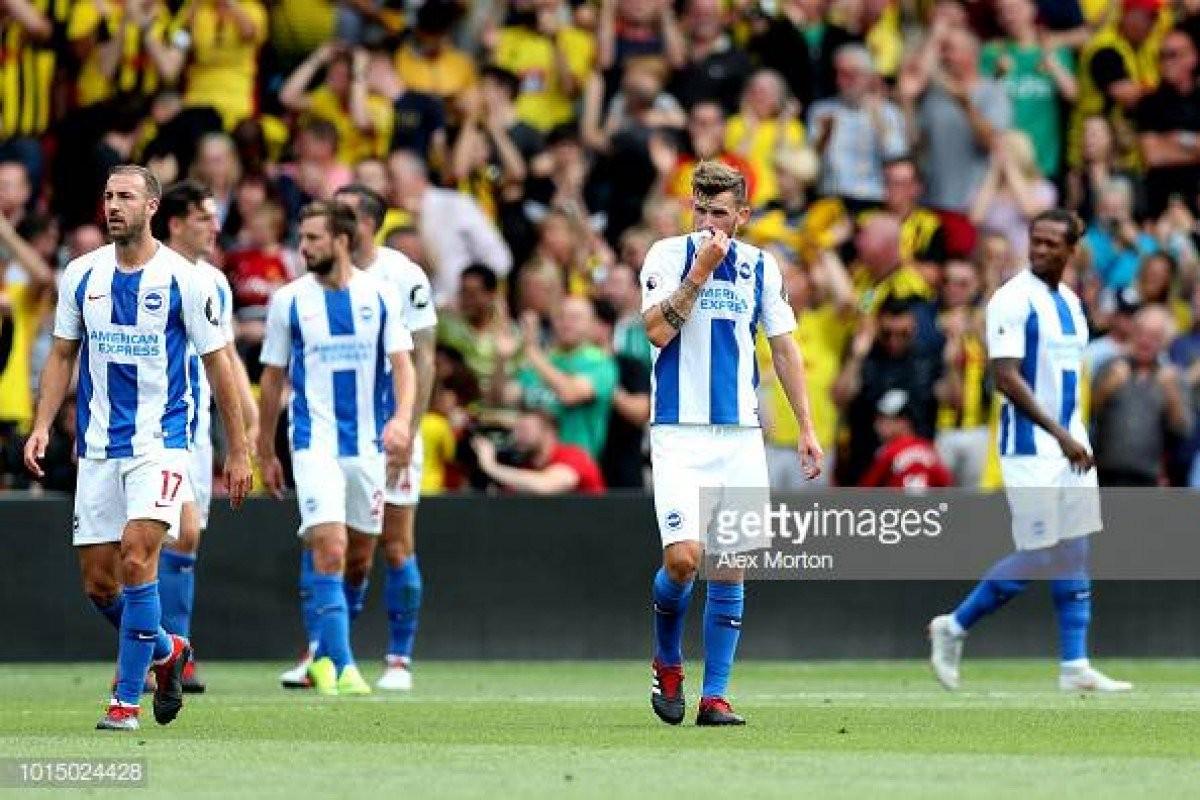 Score Brighton 3-2 Manchester United in Premier League 2018