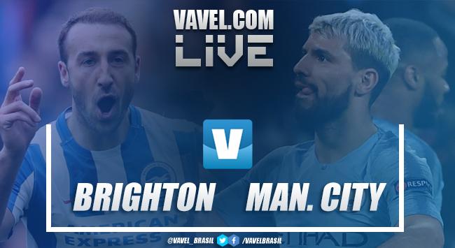 Resultado e gols Brighton x Manchester City pela Premier League (1-4)