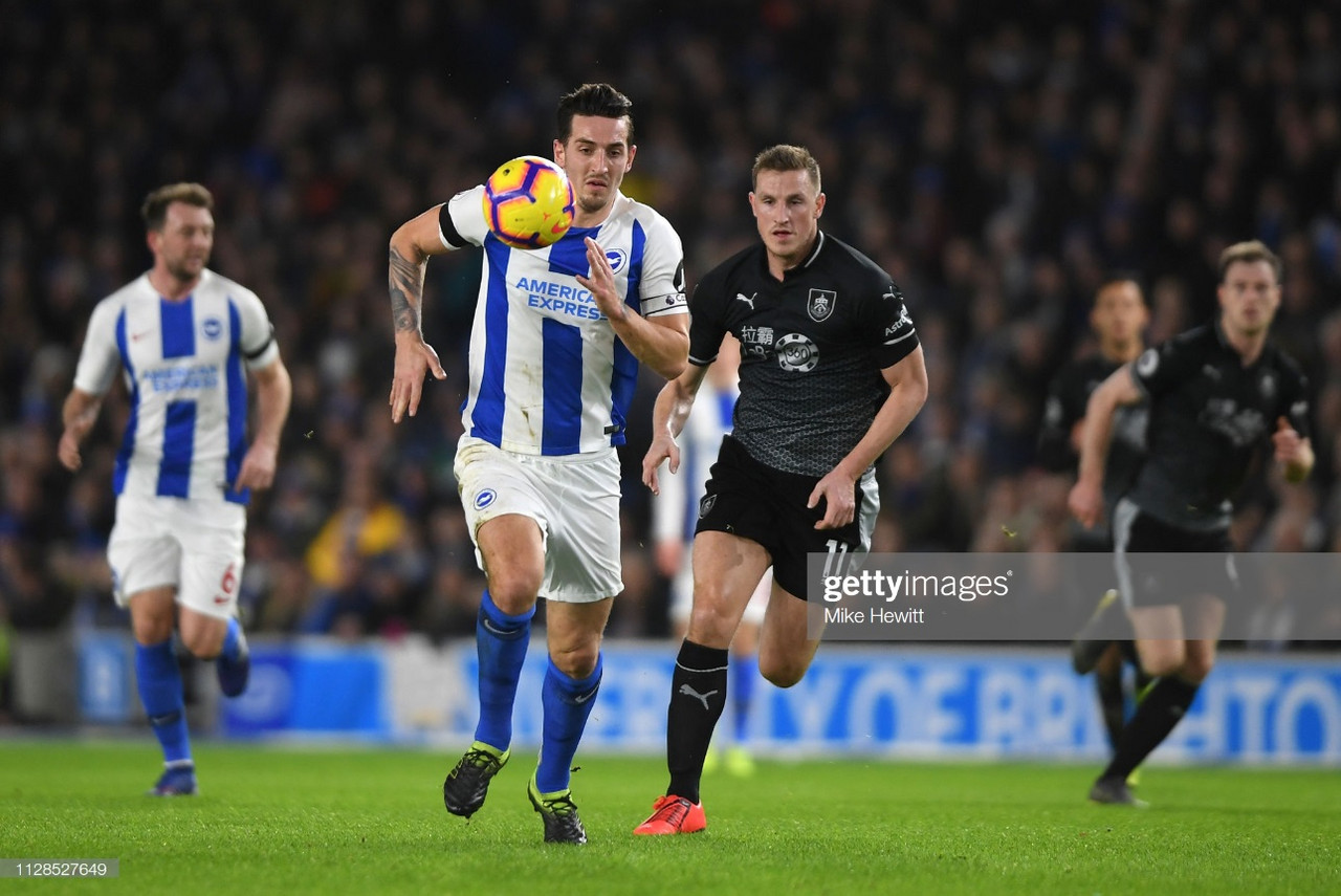 Brighton & Hove Albion vs Burnley preview: Clarets aiming to get back on track at the Amex
