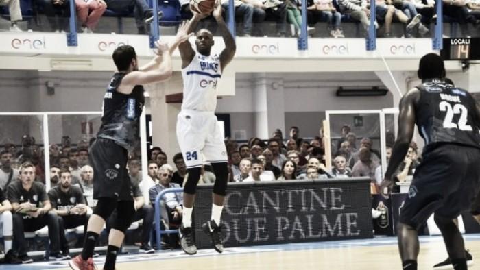 Lega basket, Brindisi asfalta Cremona in trasferta