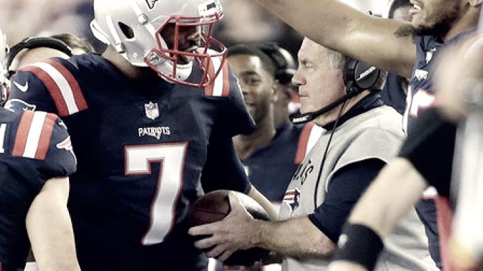 Los Patriots empiezan lento la pretemporada