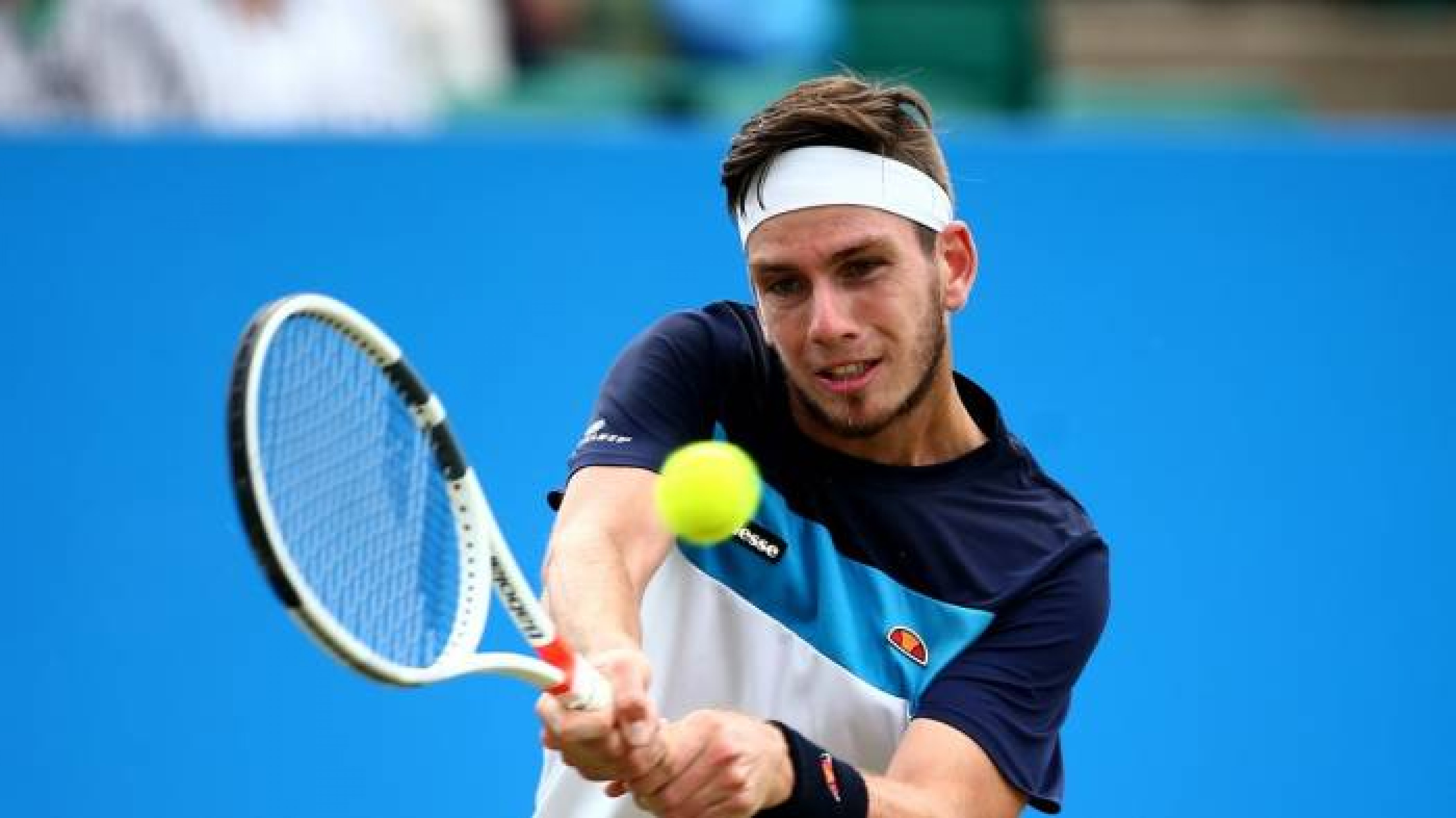 Davis Cup: Cameron Norrie obliterates Uzbekistan's Sanjay Fayziev to secure seeding for Great Britain