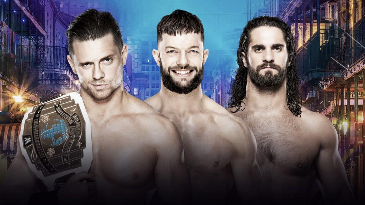 The Miz (c) vs. Finn Bálor vs. Seth Rollins: Alto voltaje por el Campeonato Intercontinental