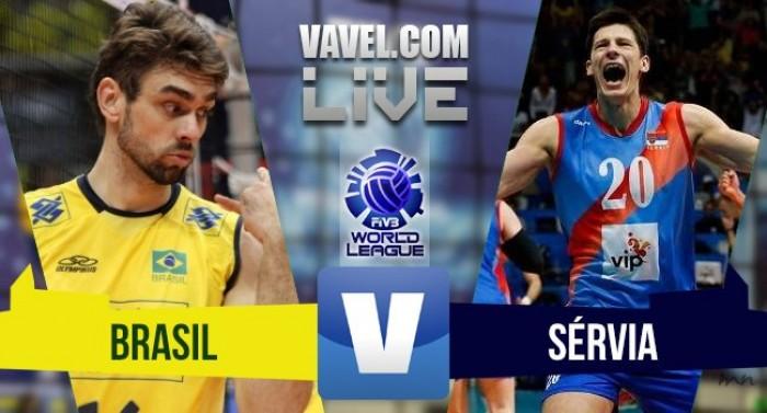 Resultado Brasil x Sérvia pela Liga Mundial de Vôlei 2016 (0-3)