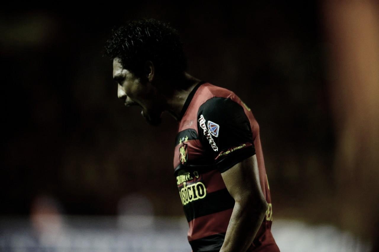 """Autor dos três gols do Sport, Brocador destaca: """"Espero poder estar fazendo muito mais"""""""