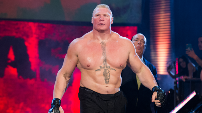 "Brock Lesnar, ""The Beast"""