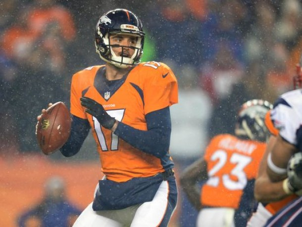 Brock Osweiler Should Be The Starting Quarterback In Denver