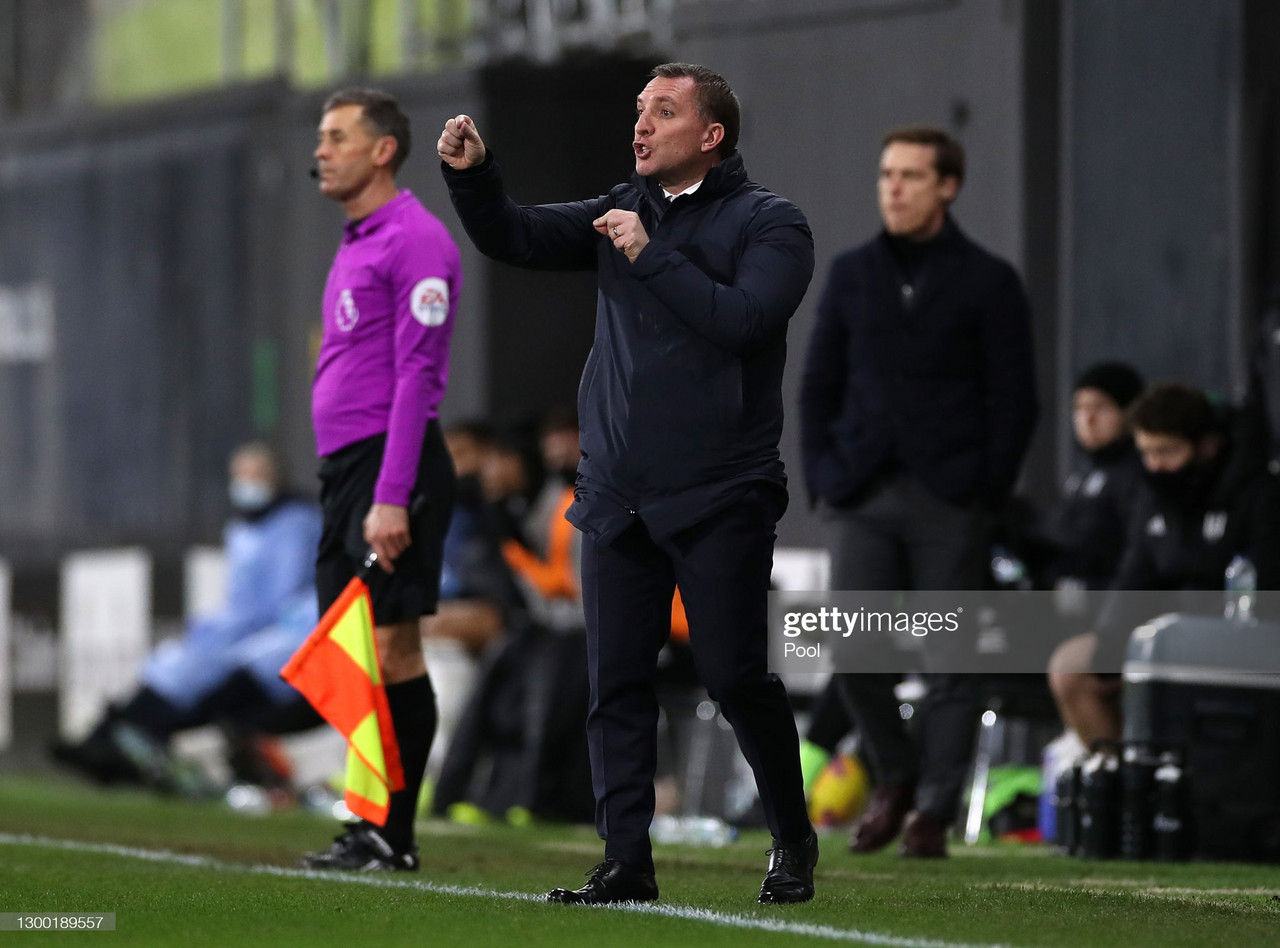 The five key quotes from Brendan Rodgers' post-match Fulham press conference