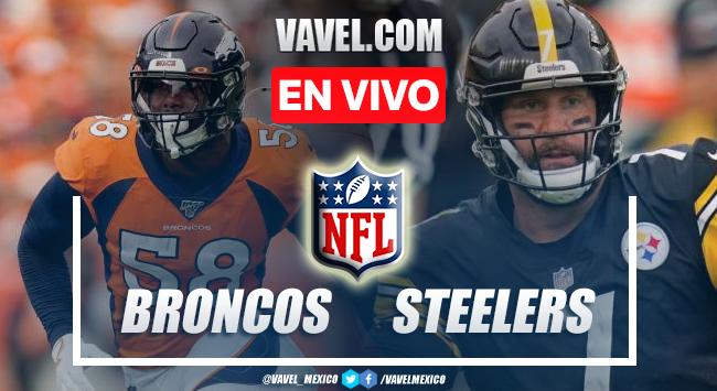 Resumen y anotaciones del Broncos 19-27 Steelers en NFL 2021