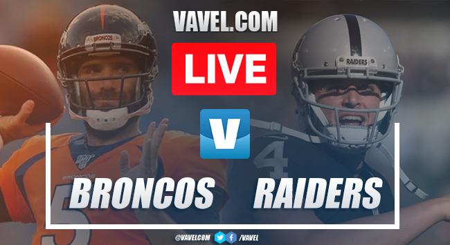 Resumen y touchdowns: Denver Broncos 16-24 Oakland Raiders en NFL 2019