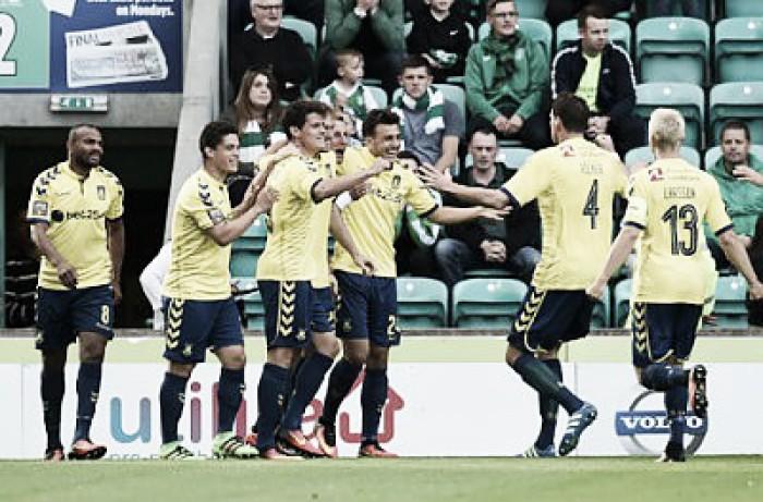 Brondby bate Hibernian fora de casa e sai na frente na Uefa Europa League