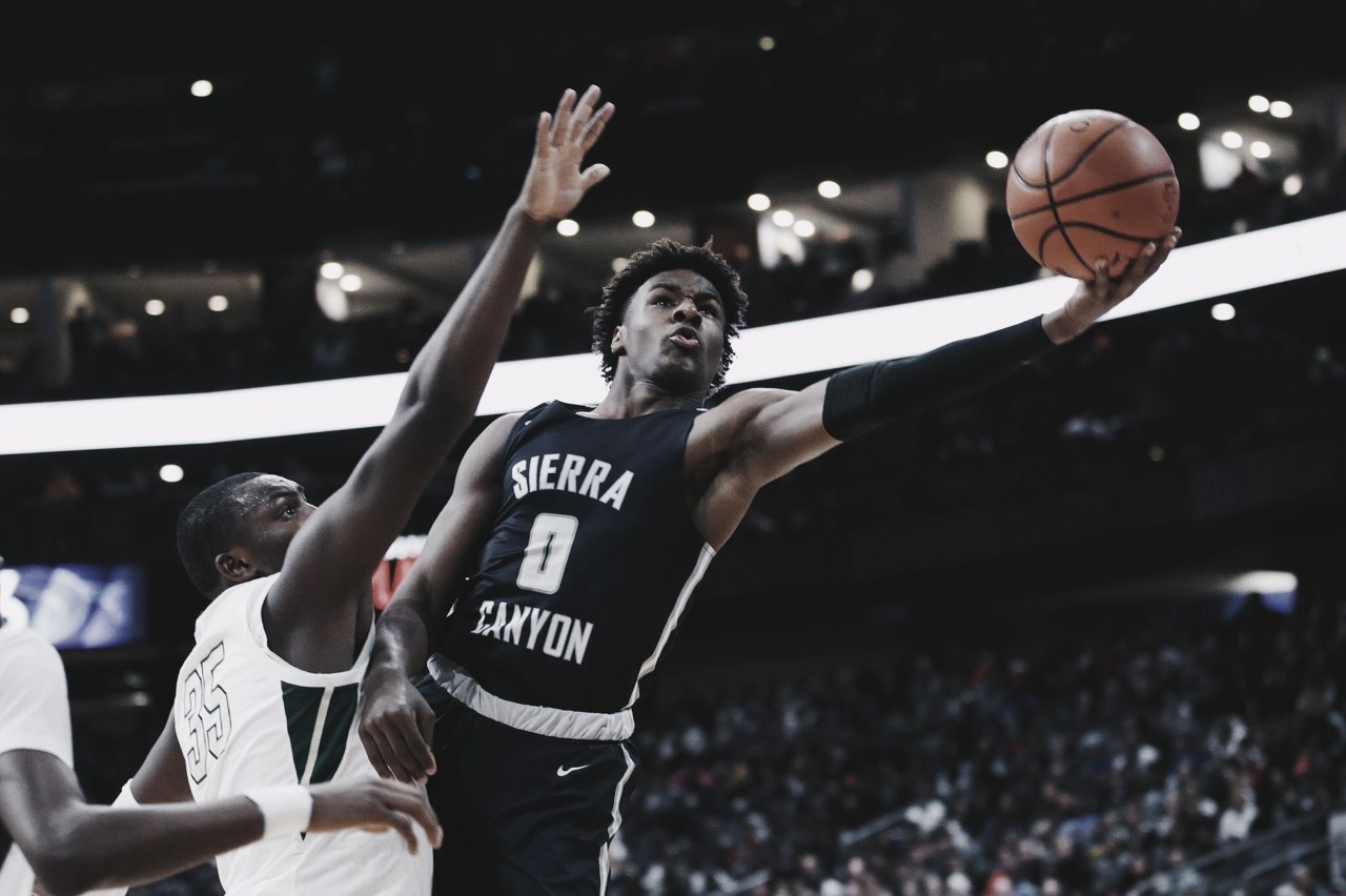 'Bronny' wins it for Sierra Canyon against LeBron's Alma Mater