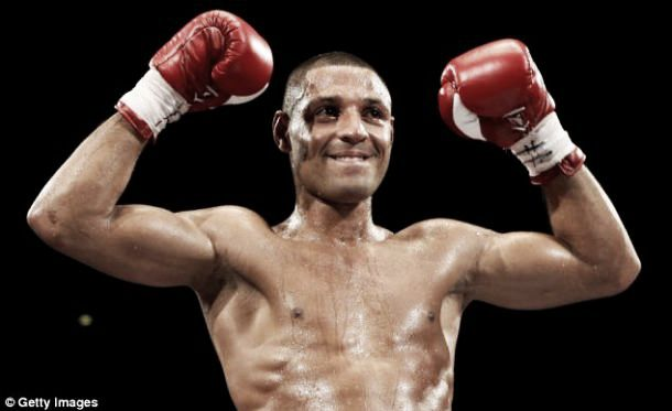 Brook makes return to the ring after stabbing