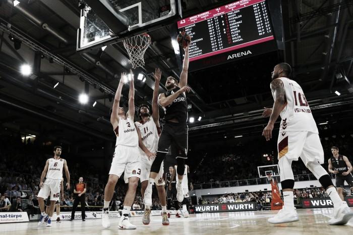 Turkish Airlines EuroLeague - Il Galatasaray passa a Bamberg (84-79) e chiude col sorriso