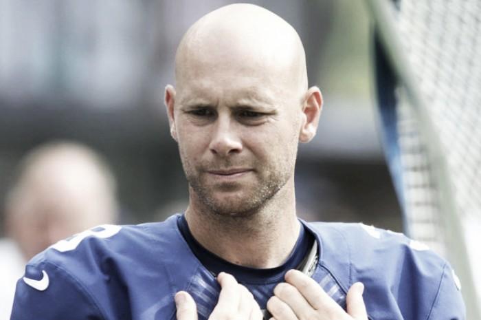 Após admitir agressão contínua na esposa, kicker Josh Brown é dispensado pelos Giants