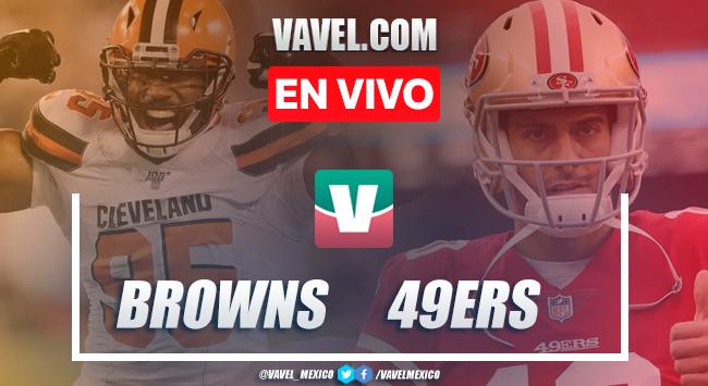 Resumen y touchdowns: Cleveland Browns 3-31 San Francisco 49ers en NFL 2019