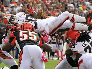 Browns se despidió de la racha negativa