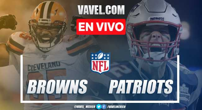Resumen y touchdown Browns 13-27 Patriots en NFL 2019
